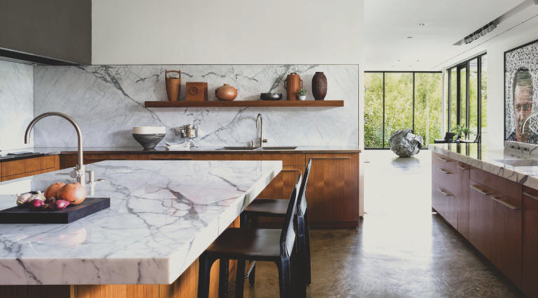 Marble is a natural stone that is formed out of limestone. Marble countertops Spokane are a little softer than granite, but still looks just as amazing!