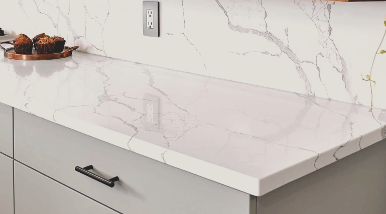 Quartz is a manmade material, but is very dense and non-porous. If you're looking to get a quartz countertop Spokane Wa for your surface, call us today!